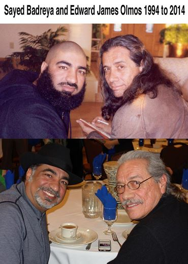 Sayed Badreya, Edward James Olmos Before and during Images and Perceptions!