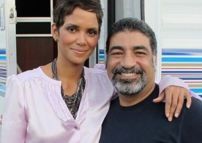 Sayed Badreya and Halle Berry